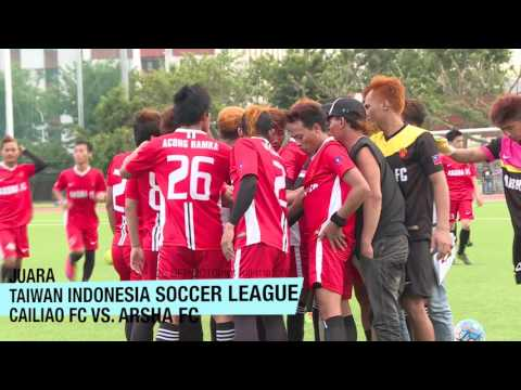 20160925 TAIWAN INDONESIA SOCCER LEAGUE FINAL