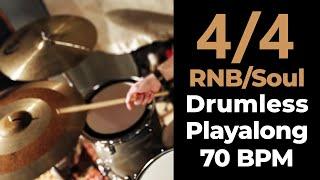 4/4 RNB/Soul Drumless Playalong (70bpm)