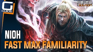Download lagu Nioh Guide How to get Max Familiarity Fast Tutorial MP3