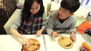 Extreme Korean Spicy Noodles Challenge!!