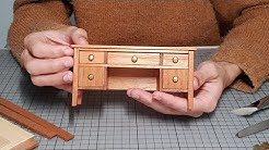 Office Table - Traditional Style / Furniture in Miniature