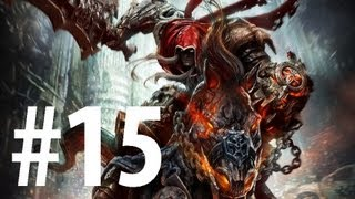 Darksiders - Playthrough Part 15 - The Ashlands 2, Ash Titan BOSS [No commentary] [HD PC]