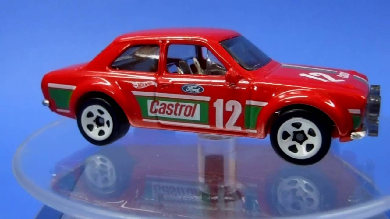 2016 Hot Wheels70 Ford Escort Rs1600 Castrol Bibi Castorssito