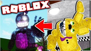 New Aftons Family Diner personagem secreto #7 cinco noites no Freddy Roblox RP