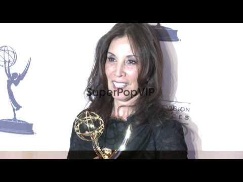Olivia Harrison at 2012 Creative Arts Emmy Awards - Press...