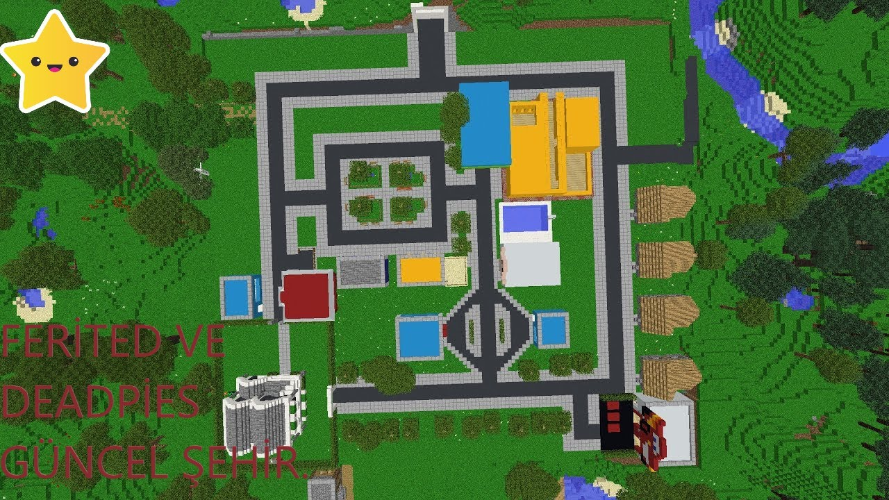 DEADPİES ŞEHIR TANTİM GÜNCEL ŞEHIR 1 - Minecraft