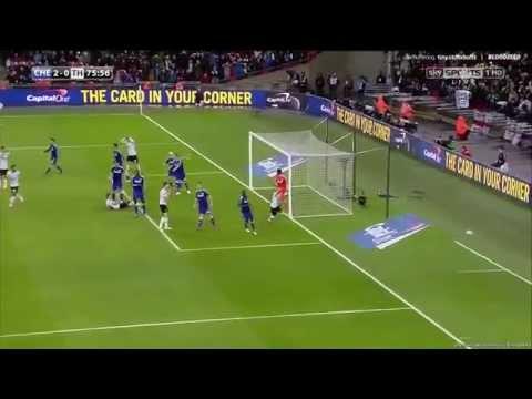 Chelsea 2-0 Tottenham Hotspur League Cup Final 1/3/2015