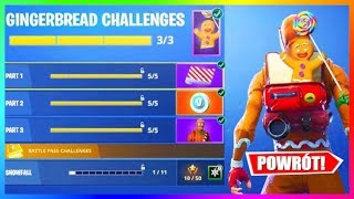 GIFTS FROM FORTNITE FOR CHRISTMAS?! THE RETURN OF RARE SKINS! | Information