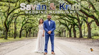 Savan & Kruti Wedding Video Highlight