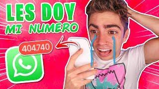 LES DOY MI NUMERO DE TELEFONO !!