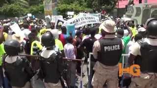 Haïti Manifestation: Platfòm Verite dans les rues, reportage video