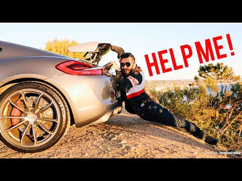 Daily Vlogger A trip to malibu with the cayman GT4