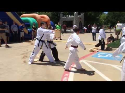 Martial Arts Public Demonstration for Primrose School at Hidden Lakes in Southlake TX