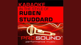 Flying Without Wings (Karaoke Instrumental Track) (In the style of Ruben Studdard)