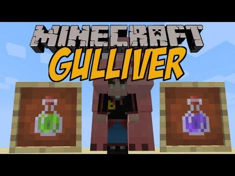 RIESIG UND MINI SEIN | Gulliver Mod | Minecraft Mod Review [DEUTSCH]