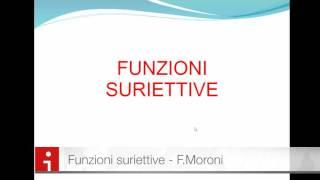 Funzioni Iniettive Suriettive e Biiettive