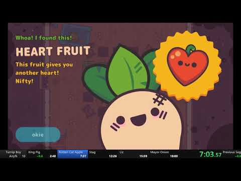 Turnip Boy Commits Tax Evasion Any% Speedrun (17:44) |