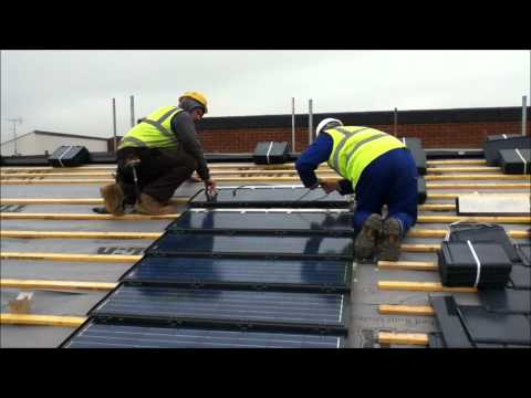 Solar Tile Installation.wmv