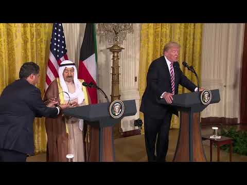 President Trump's full press conference with Kuwait's emir