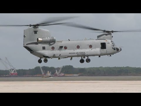 Indian Air Force's AH-64E Apache & CH-47F(I) Chinook first flight