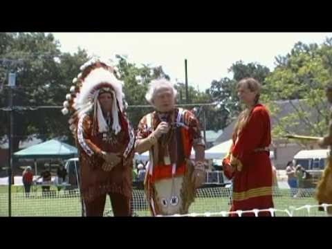 Roy Spotted Eagle  Dana & Tigger Ross present Eagle Flute to Chief Silverheels