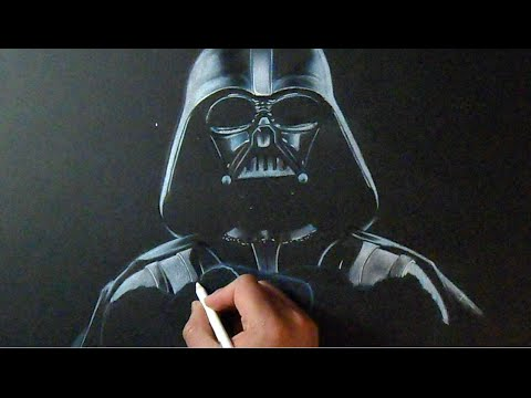 Dark vador dessin star wars the force awakens youtube - Dessin dark vador ...