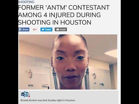 Trifling TX~America's Next Top Model finalist sh0t in Houston
