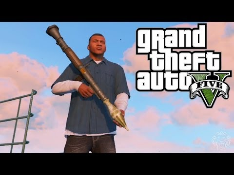 GTA 5: RPG Location + Shooting Gameplay! Where To Find The RPG Rocket Launcher (Grand Theft Auto V)