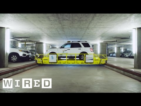 The Amazing Garage Where Robots Do the Parking | WIRED