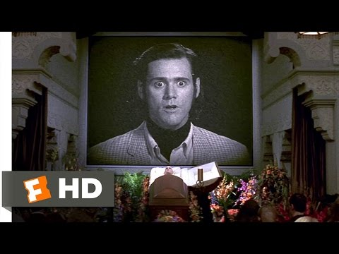 Man on the Moon 99 Movie CLIP  A Friendly, Friendly World 1999 HD
