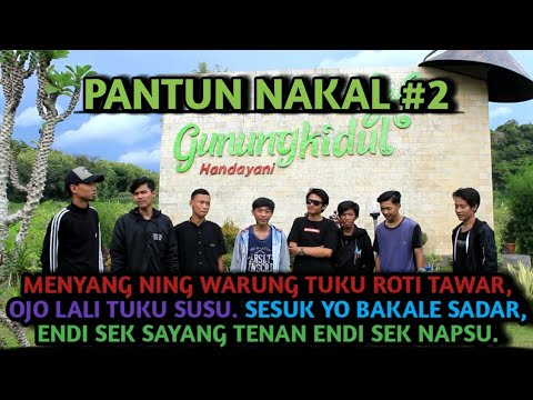 Pantun Nakal Bahasa Jawa #2 | Cocok Untuk Story Wa Kekinian