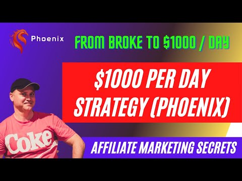 Affiliate Marketing Guide 2021 – How to Make $1000 a Day Online With  Phoenix Strategy.