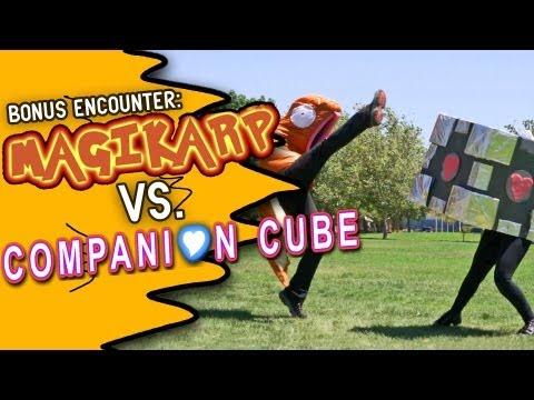 Magikarp VS. Companion Cube!  (Bonus Encounter)