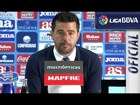 Press Conference Cosmin Contra after Getafe CF (1-0) Málaga CF - HD
