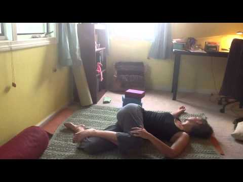 yoga for low back pain  3 simple poses  youtube