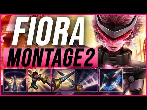 Fiora Montage 2 - Best Fiora Plays pre-season 9 - League of Legends thumbnail