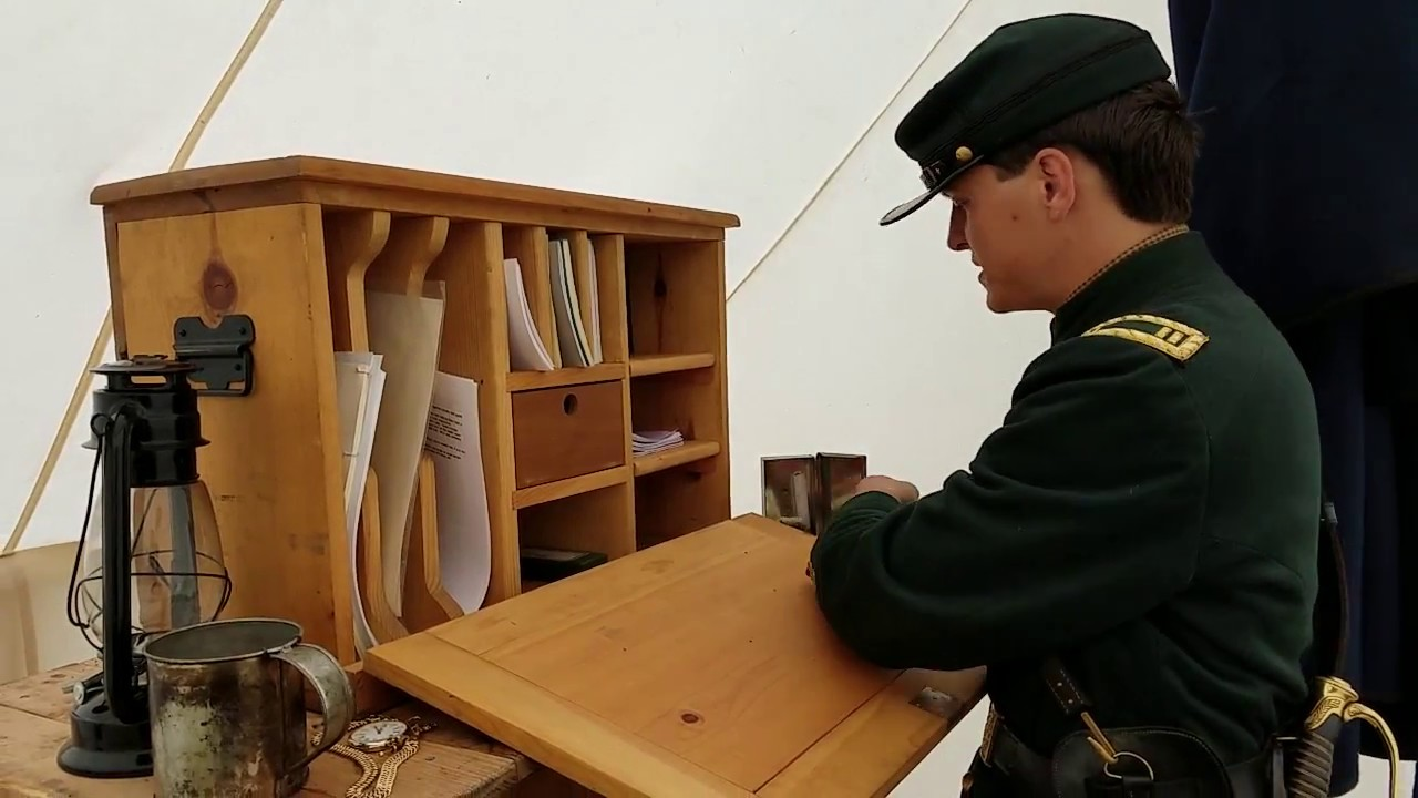 Civil War Field Desk Hostgarcia