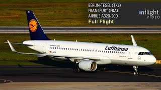 Lufthansa A320 Full Flight - Berlin Tegel to Frankfurt