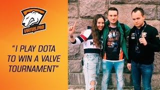 virtus pro at the kiev major i play dota 2 to win a valve tournament an interview with solo