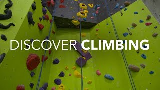 Discover Indoor Climbing!