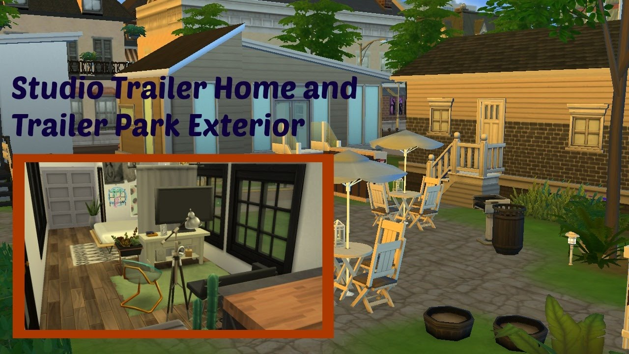 Sims  How To Build A Trailer Park
