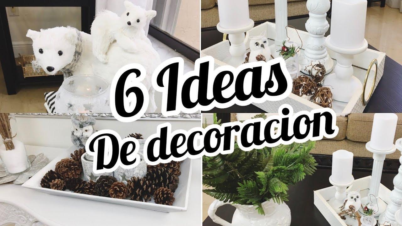 Ideas para decorar tu casa invierno primavera elegante y for Ideas para decorar interiores de casas