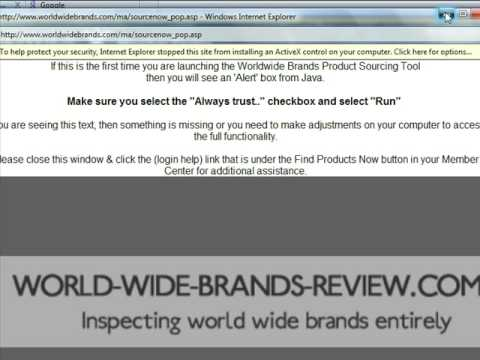WorldWideBrands Login Error - How To Fix Quickly