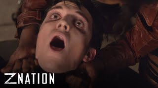 Z NATION | Season 3 Finale: 'Choke, Die, Bite, Inject' | SYFY