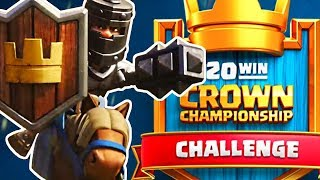 20 WIN CHALLENGE RETURNS! - Clash Royale