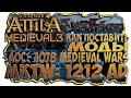 КАК ПОСТАВИТЬ МОДЫ На Attila Total War MKTW 1212 AD и AoC 1078 Medieval Wars Уже не годно mp3