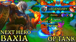 Next New Hero Baxia Gameplay - Mobile Legends Bang Bang