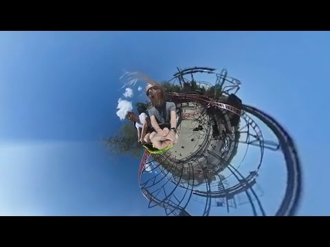 Little Planet Rollercoaster Style!