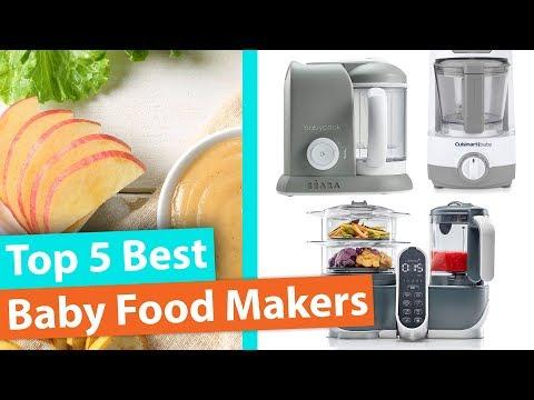 Best Baby Food Maker | Top 5 Baby Food Steamer and Blenders