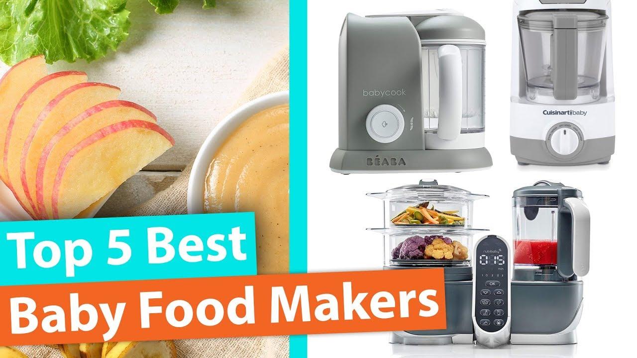 Best Baby Food Maker Top 5 Baby Food Steamer And Blenders